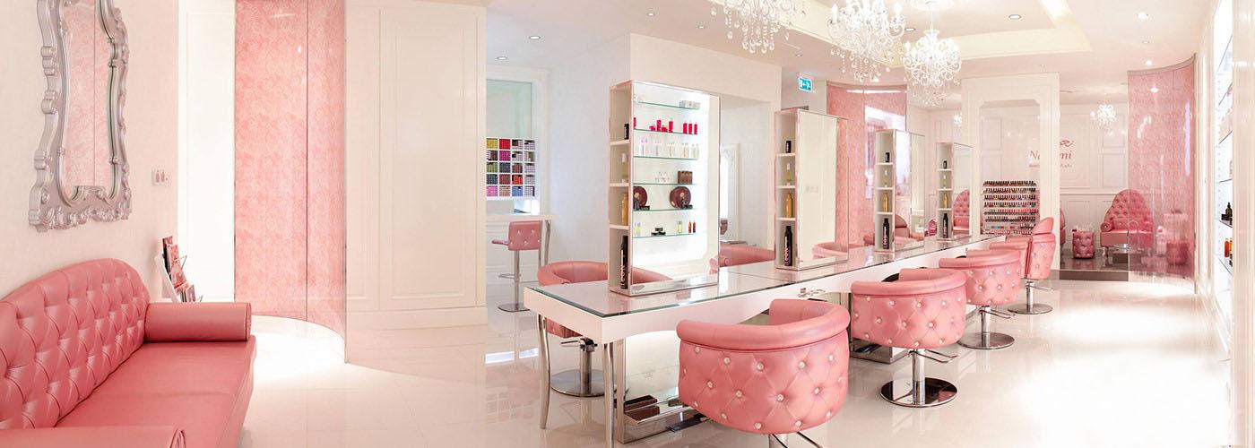 wms beauty saloon setup in uae